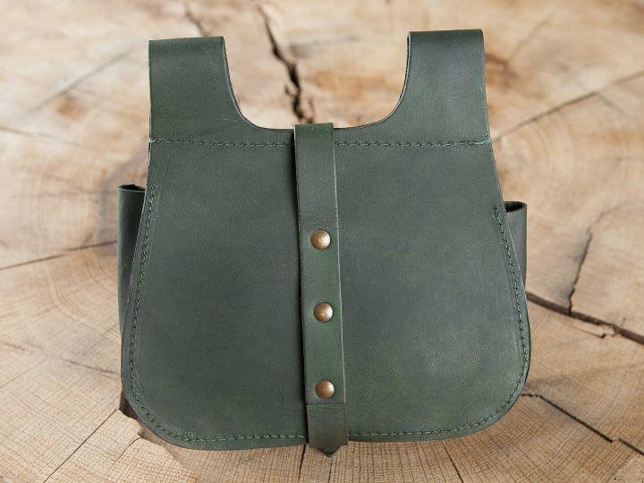Sacoche de ceinture en vert 2