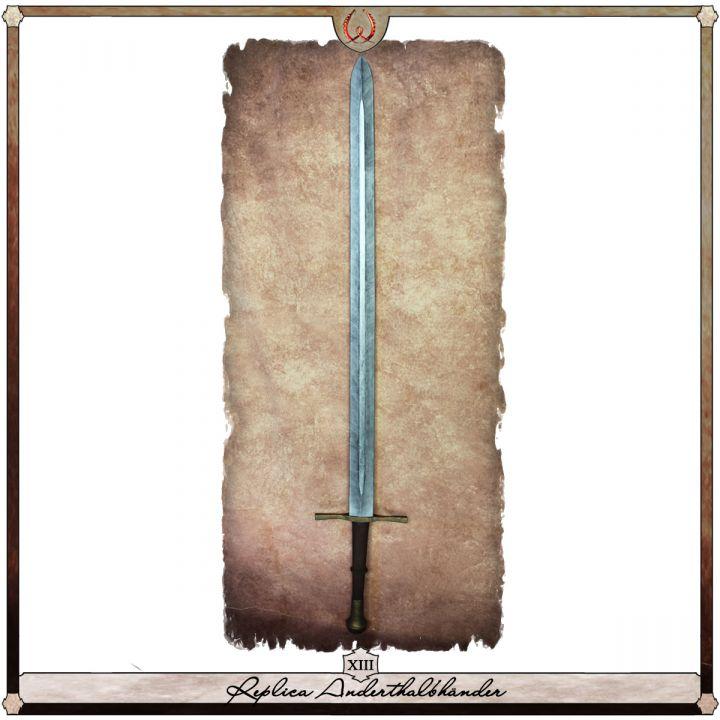 Réplique d'une épée à 1 main et demie, Type VIII 2