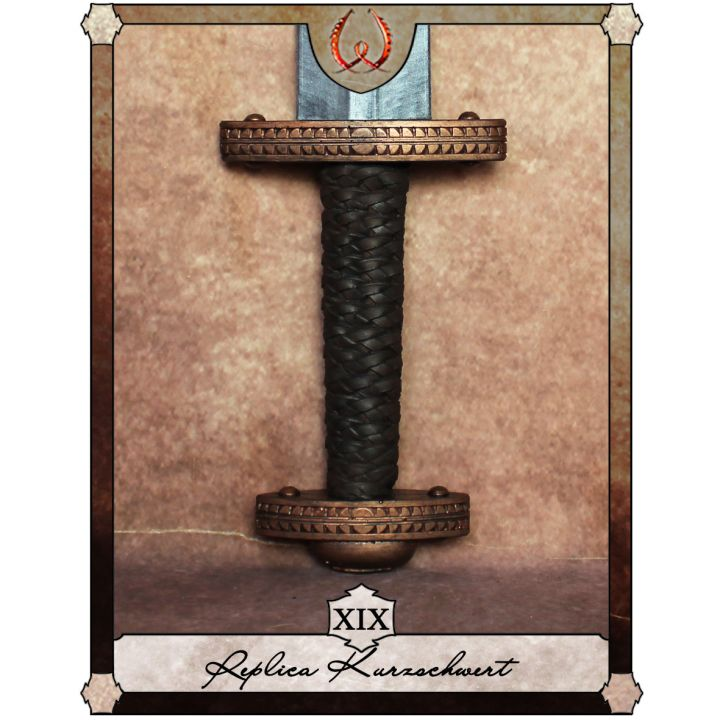 Réplique d'une épée courte - Type XIX 2