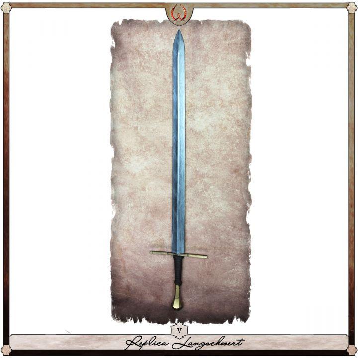 Réplique Épée longue, type V 2