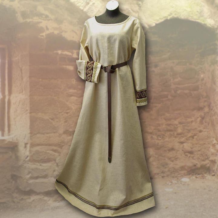 Robe viking Runhild - bordeaux 2