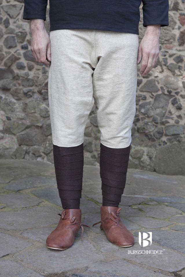 Pantalon viking Thorsberg en blanc-écru 2