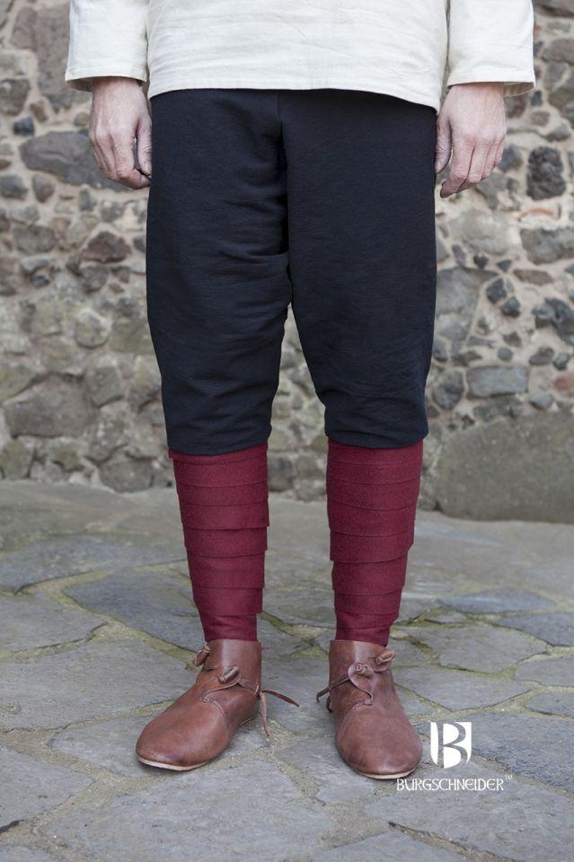 Pantalon viking Thorsberg en noir 2