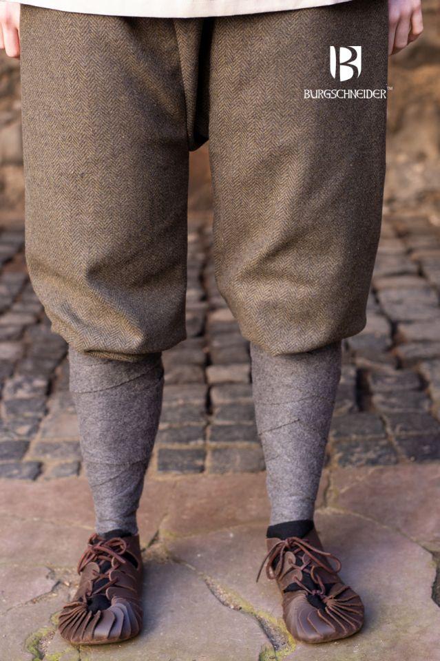 Pantalon féminin Tilda chiné vert et gris 2