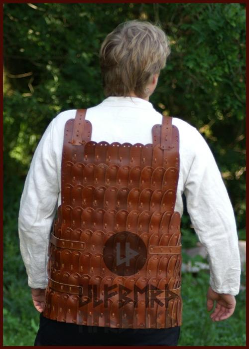 Armure en plaques de cuir 2