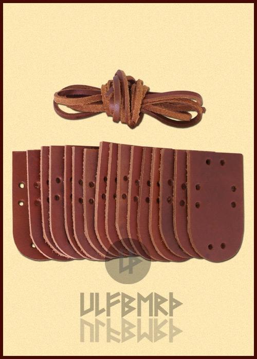 Extension pour armure à plaques de cuir 2