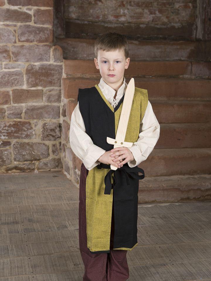 Tabard bicolore Norman pour enfant, jaune et noir 2