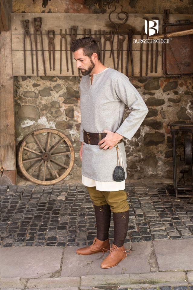 Tunique en laine Lodin en gris 3