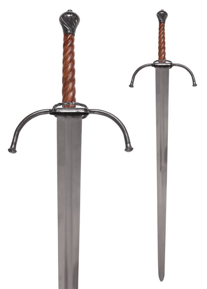 Epée batarde à deux mains avec fourreau 3