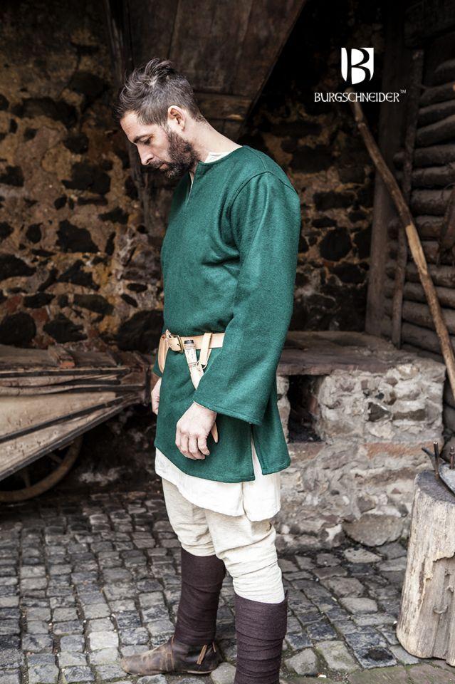 Tunique en laine Lodin en vert 3