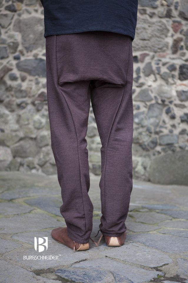 Pantalon Viking Thorsberg en marron 3