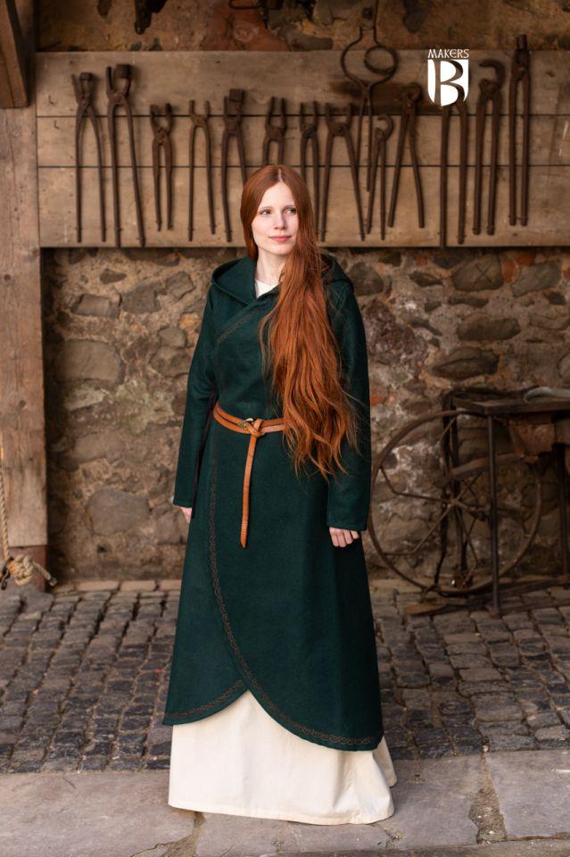 Manteau Enya en vert 3