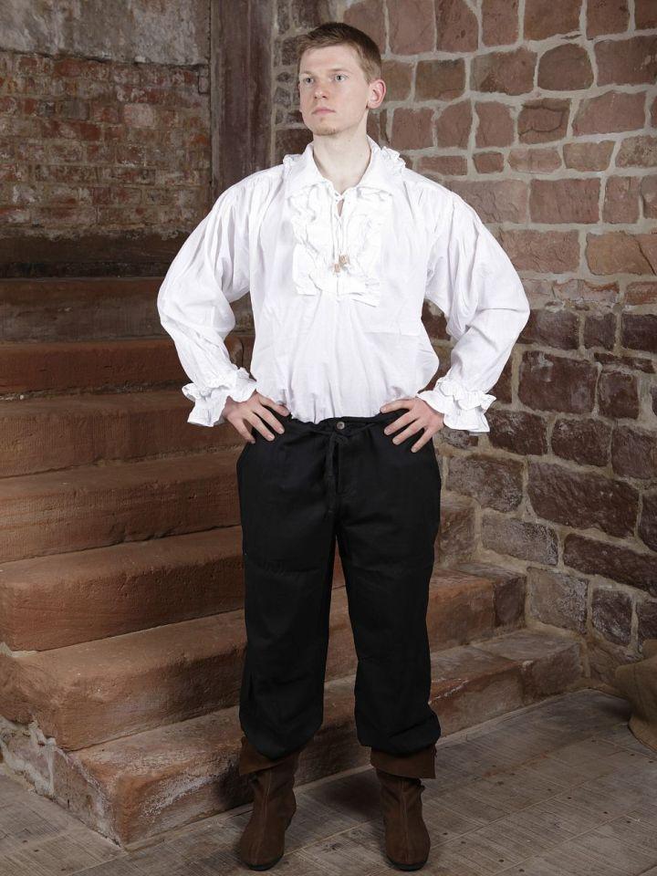 Chemise à jabot en coton L 3