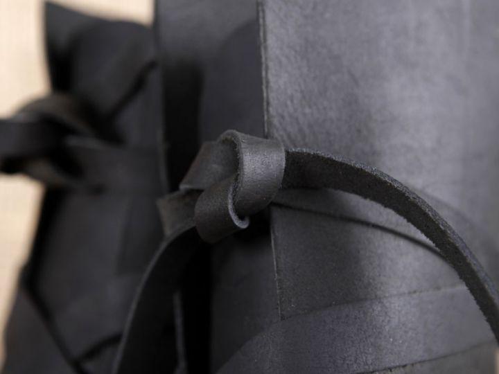 Bottines viking en cuir noir 48 3