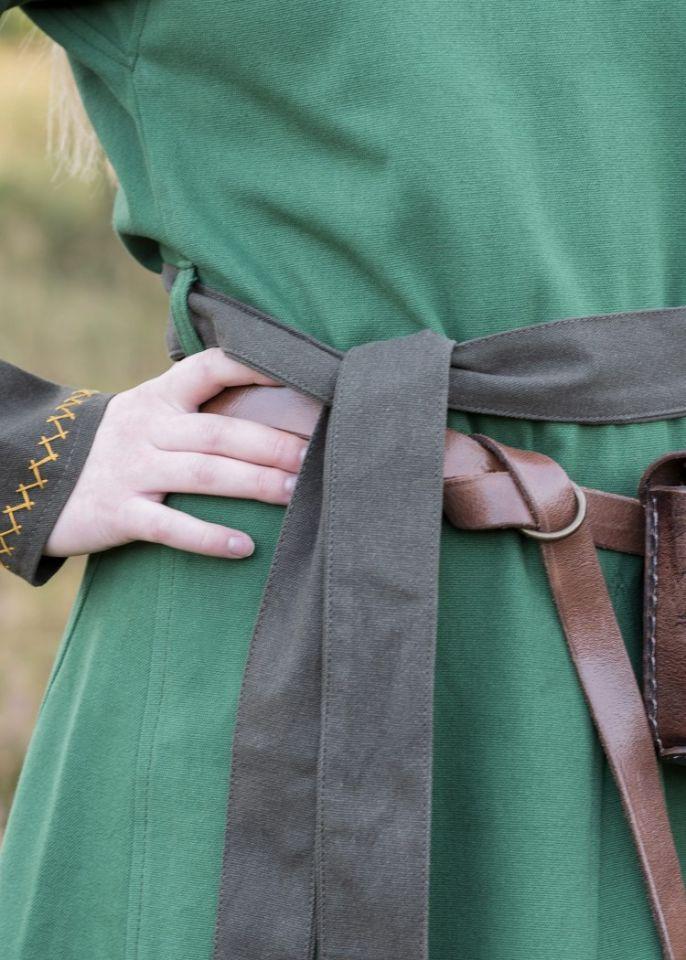 Robe viking Freydis en vert 3