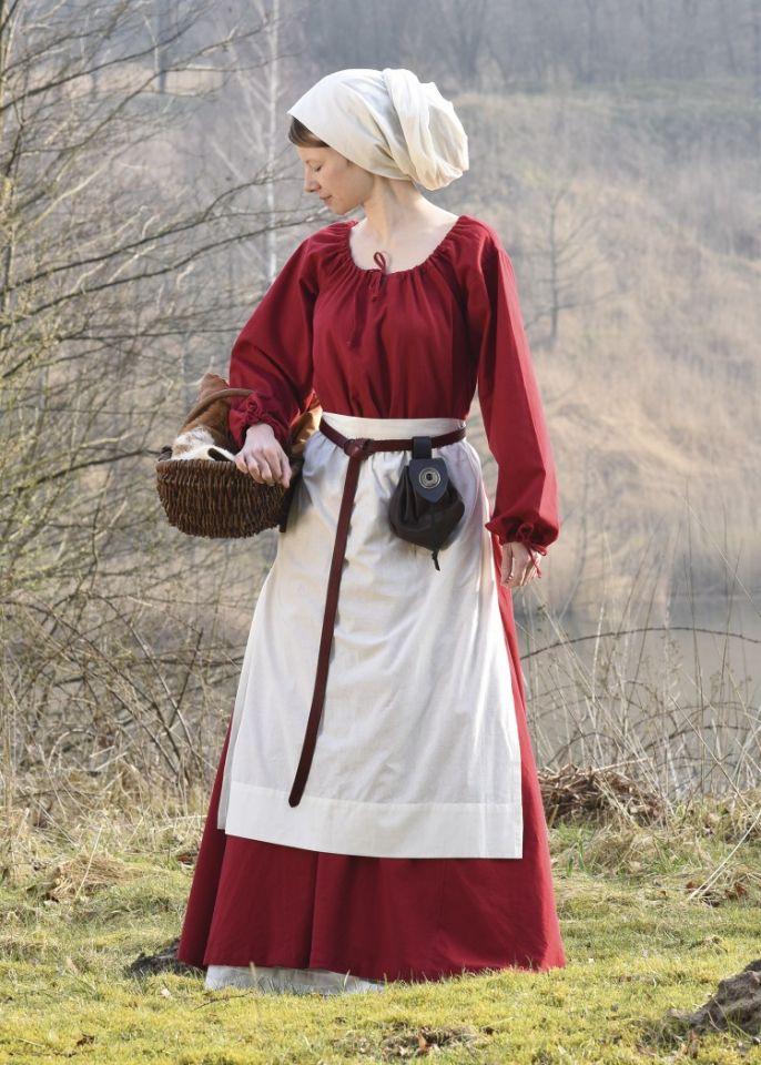 Robe Mara rouge L 3