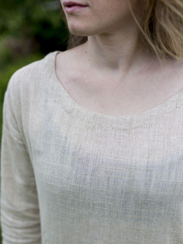 Robe chemise en lin 3