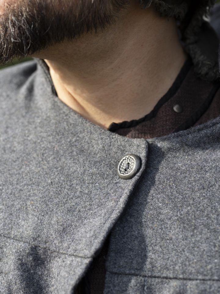 Cape à col haut en gris 3