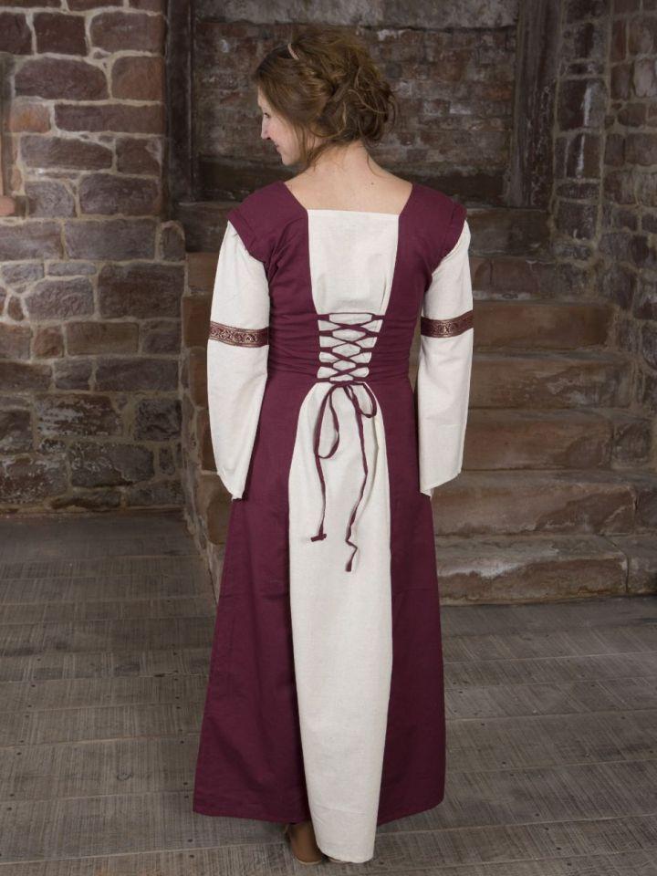 Robe médiévale à manches amovibles S/M 3