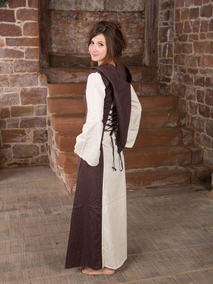 Robe médiévale à capuche L/XL 3