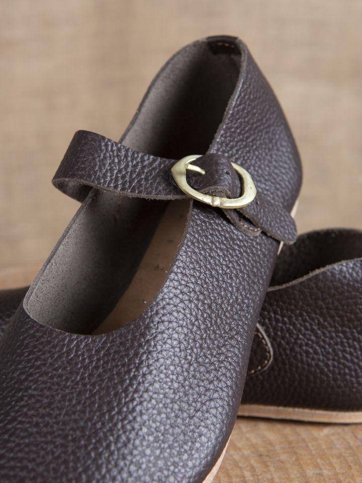 """Chaussures """"Hedwig"""" Haut/Fin - Moyen Age 42 3"""