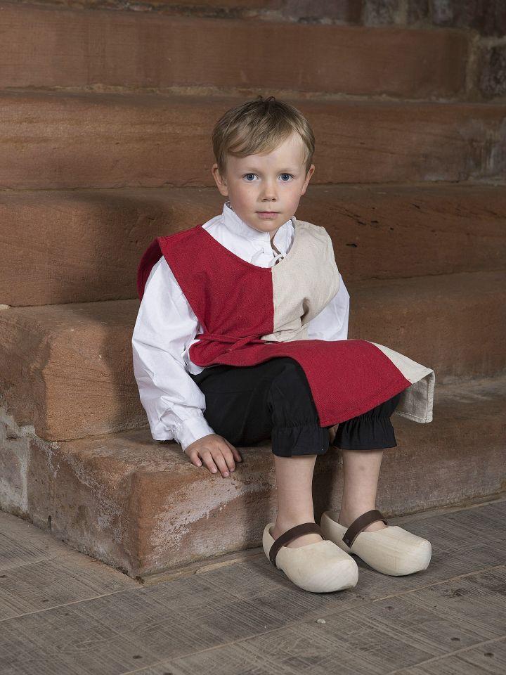 Pantalon médiéval pour enfant en coton XS | noir 3