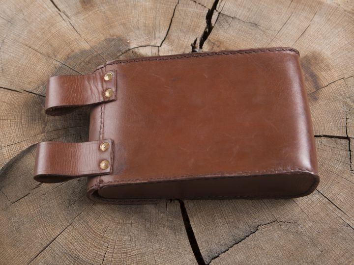 Grande sacoche de ceinture en cuir 3