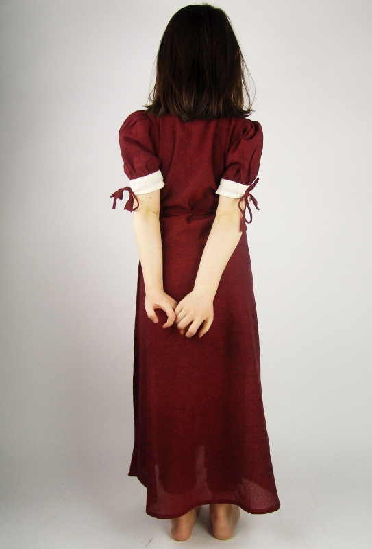 Robe rouge légère pour enfant 3