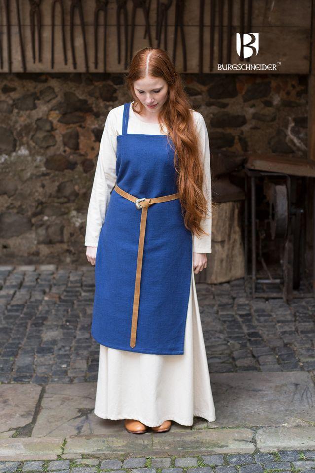 Robe Viking Frida en bleu marine 3