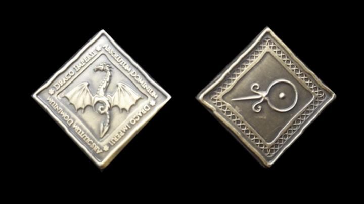 Pièces de monnaie GN Dragon 3