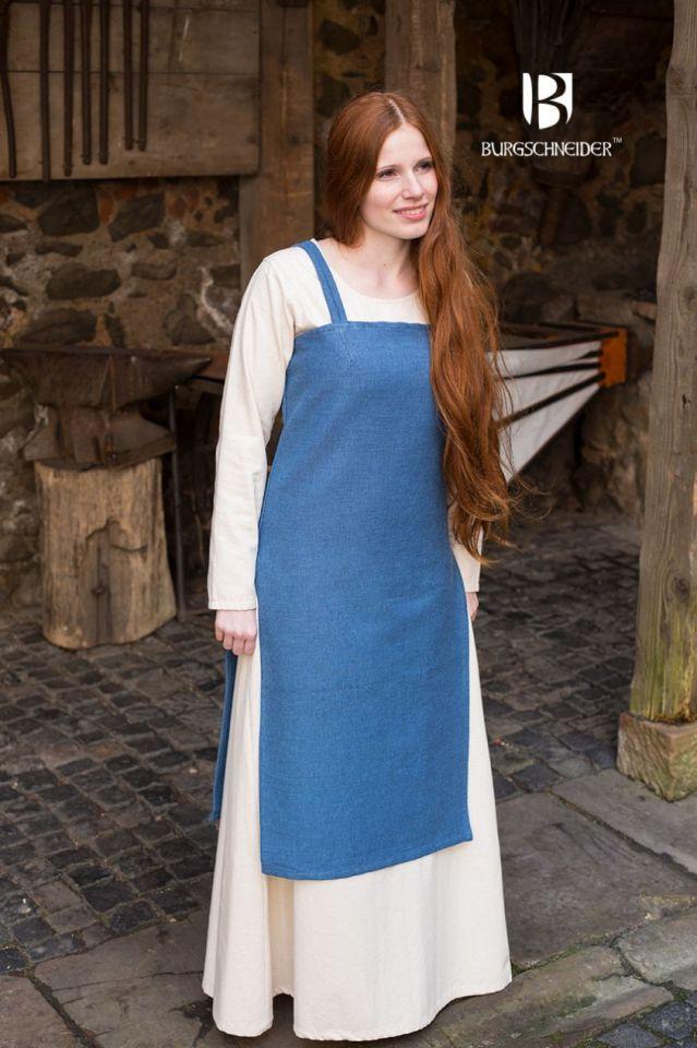 Robe Viking Frida en bleu cyan XL 3