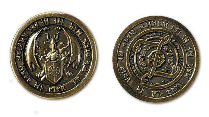 Pièces de monnaie GN Feu 3