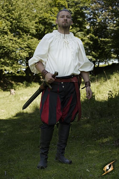 Pantalon Lansquenet noir/rouge M 3