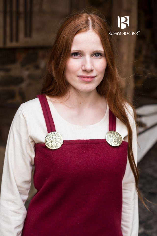 Robe viking Jodis en rouge 3