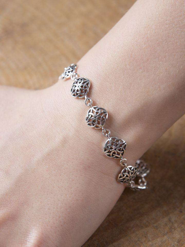 Bracelet à motifs celtiques 18,5 cm 3