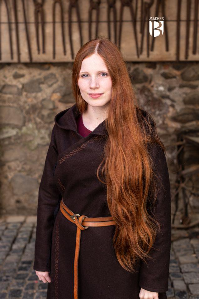 Manteau Enya en marron 3