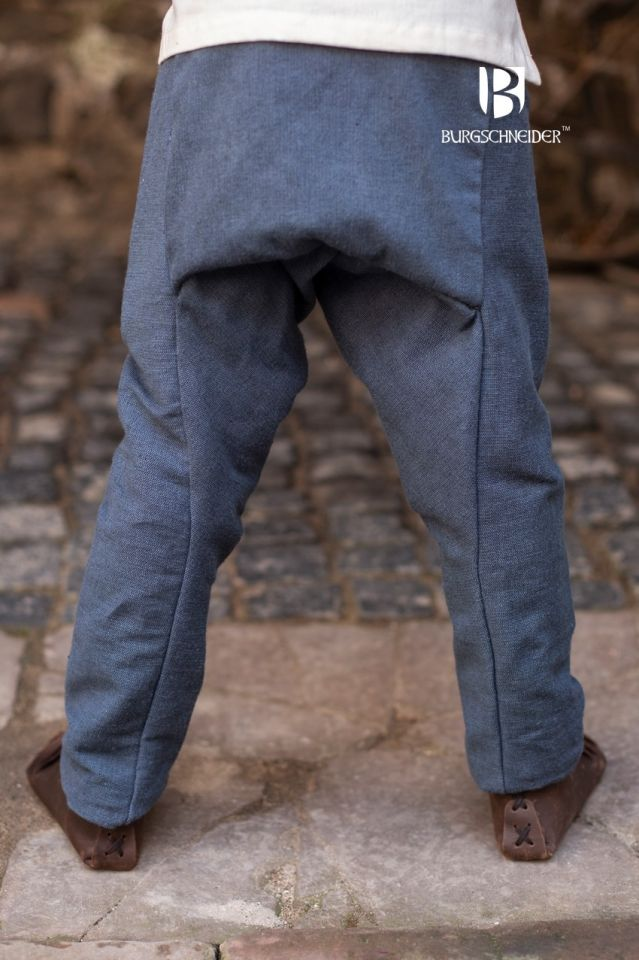 Pantalon pour enfant Ragnarsson, gris 128 3