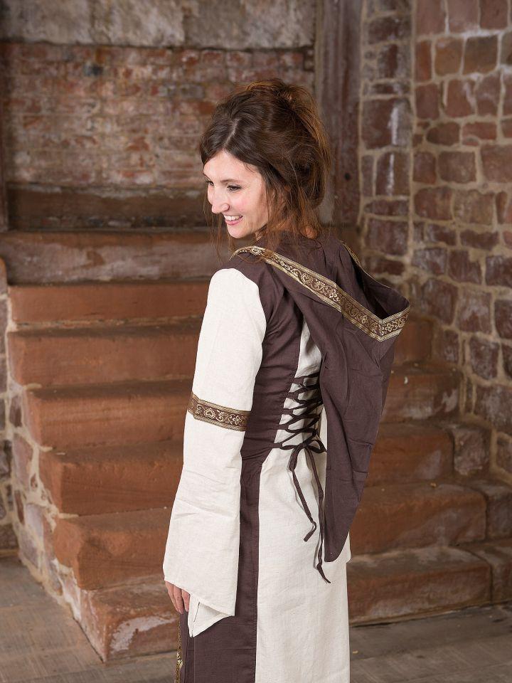 Robe Capuche bicolore L/XL 3