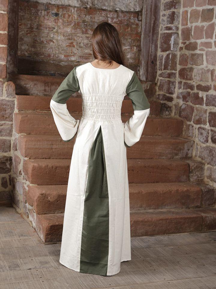 Robe bicolore en lin 3