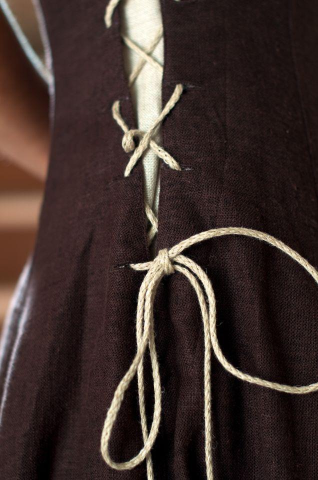 Robe en lin sans manche 3