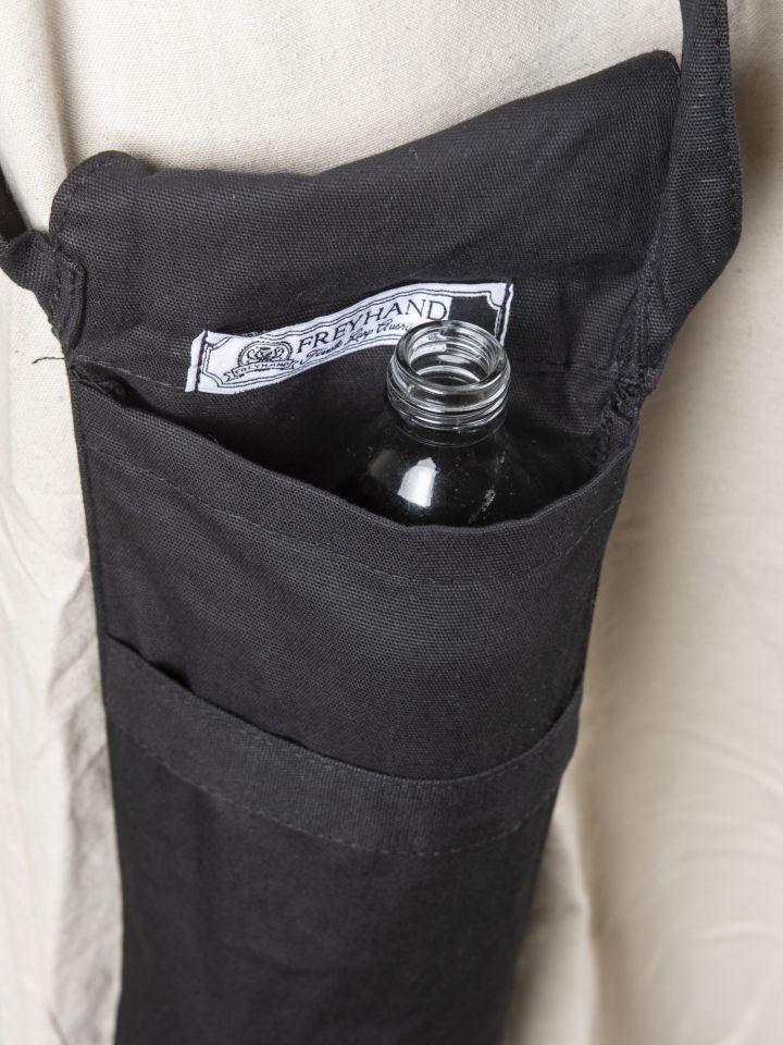 Sac porte bouteille, noir 3