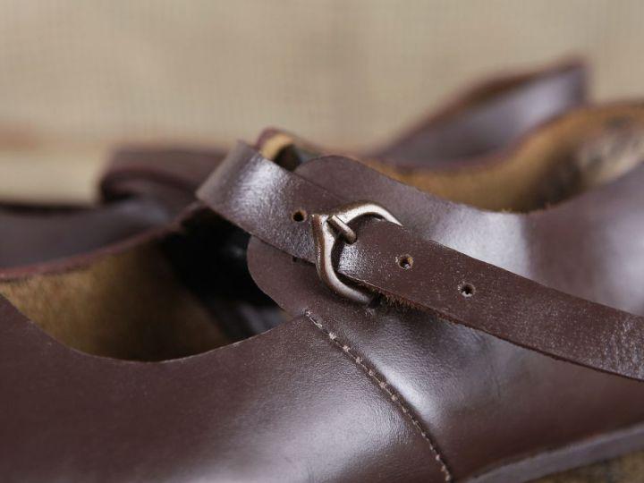 Chaussures médiévales en cuir 37 3