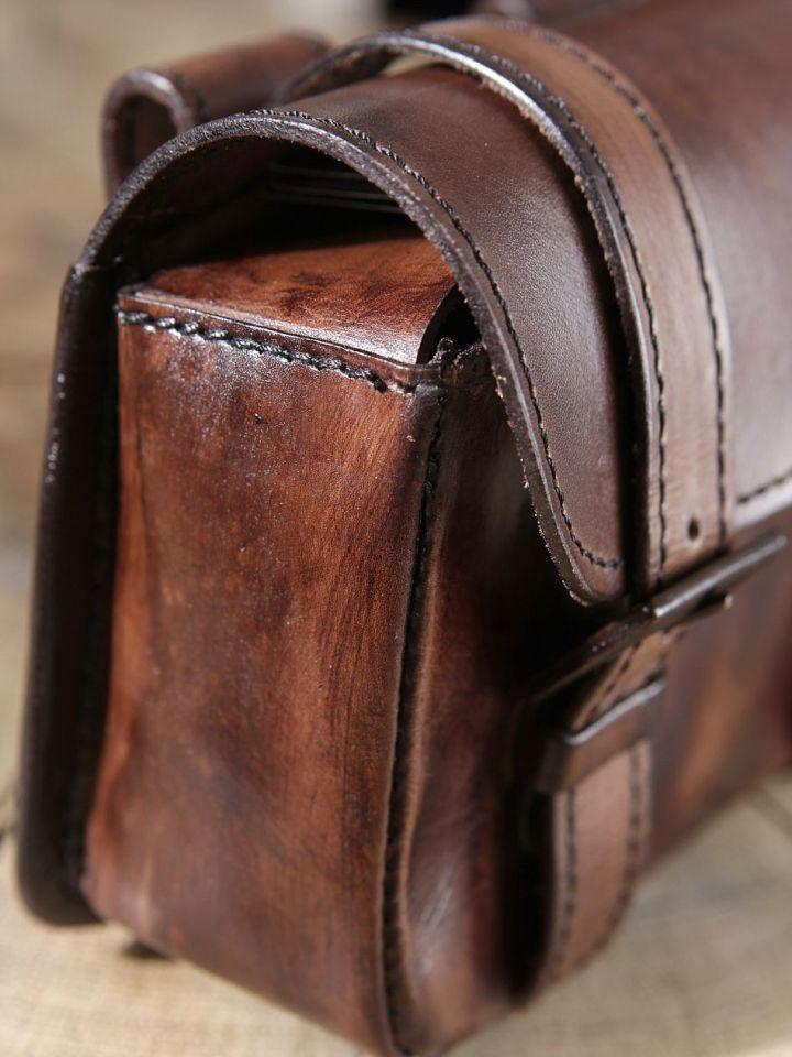 Sacoche de ceinture marron 3