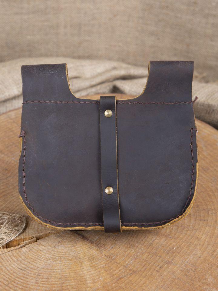 Sacoche de ceinture en marron 3