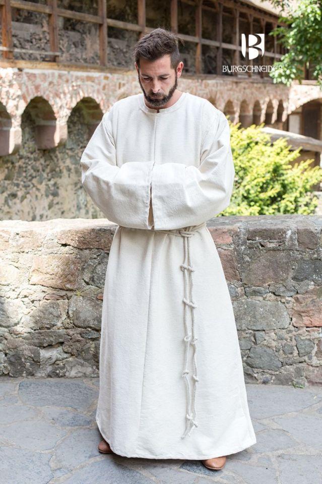Habit de moine bénédictin en écru L/XL 3