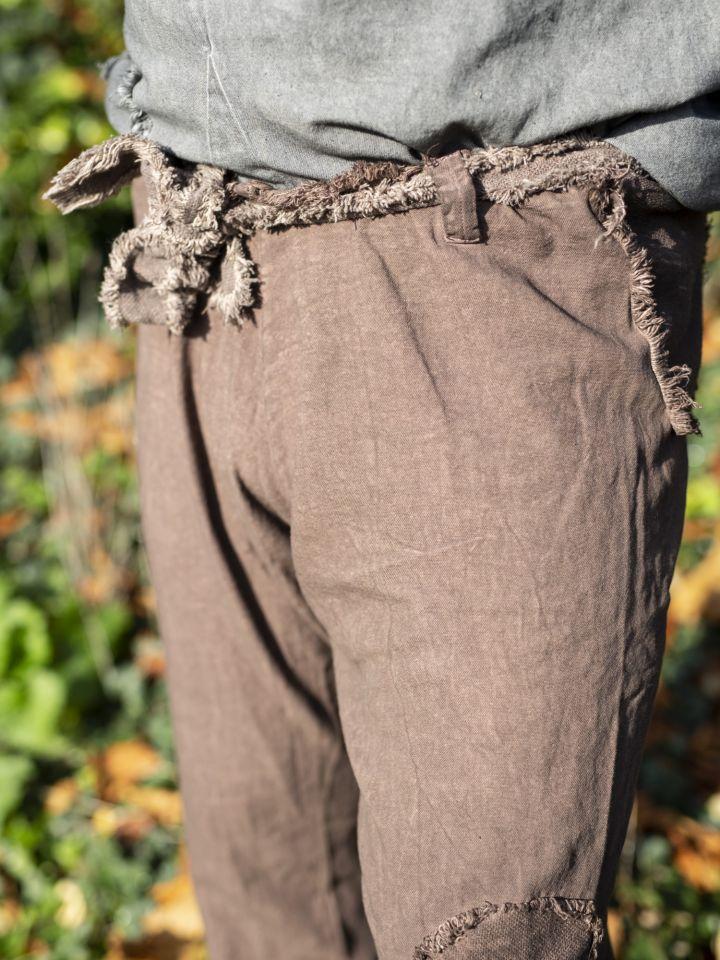 Pantalon Buri marron 3