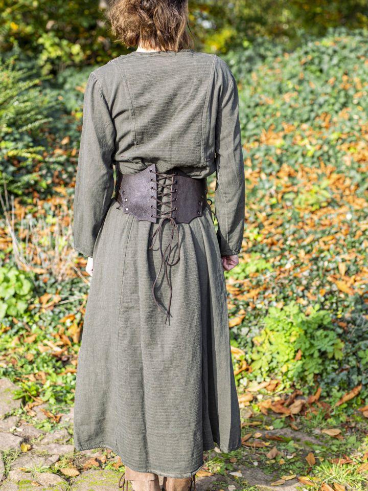 Robe Lagertha en vert 3