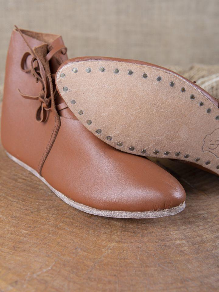Chaussures médiévales à lacets pour enfant 3
