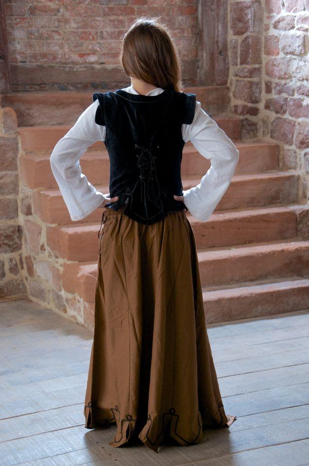 Ensemble jupe, blouse et corset 3
