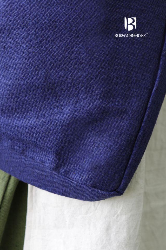 Besace en coton bleu 3